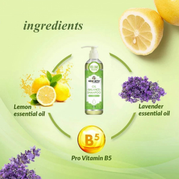 Keya Seth Aromatherapy Oil balance Shampoo, 200ml
