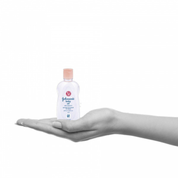 Johnson's Baby Oil, 50ml