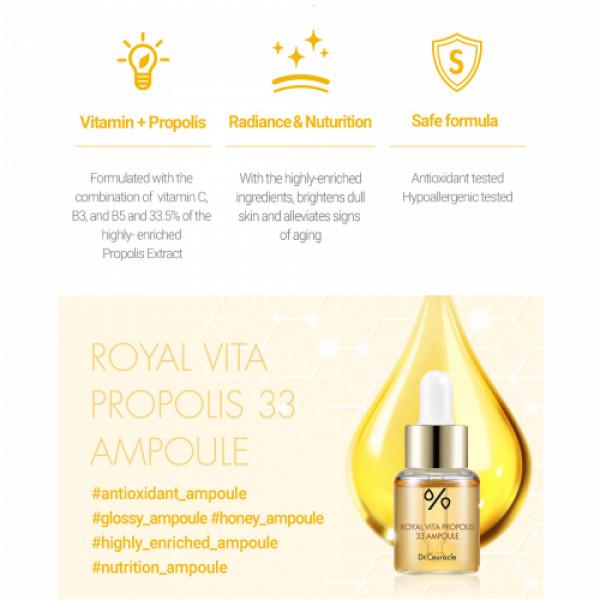 Dr. Ceuracle Royal Vita Propolis 33 Ampoule, 15ml