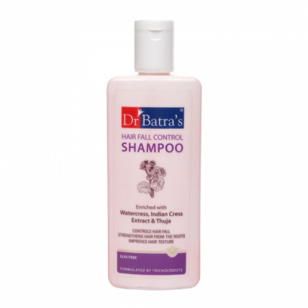 Dr Batra's Hair Vitalizing Serum, 125ml, Hair Fall Control Shampoo, 500ml With Hairfall Control Shampoo, 200ml Combo Pack