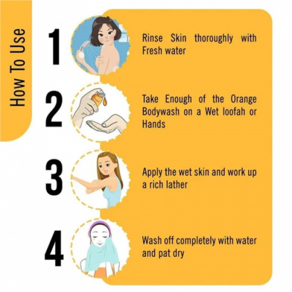 Keya Seth Aromatherapy Honey Bodywash for Oily Skin, 200ml