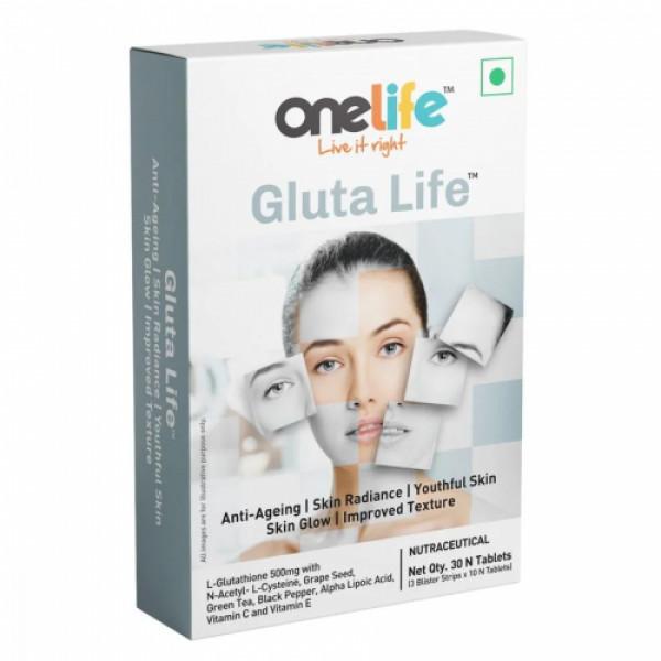 Onelife Gluta Life, 30 Tablets