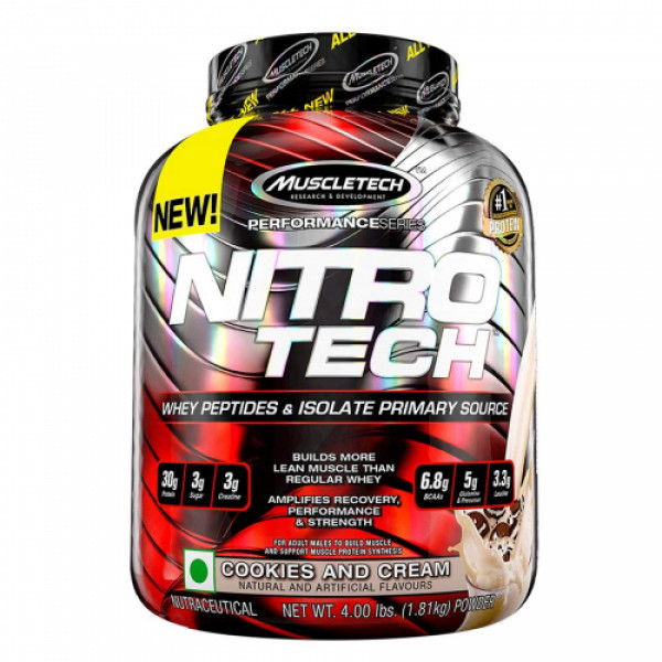 Muscletech Nitro Tech Cookies and Cream, 1.81kg