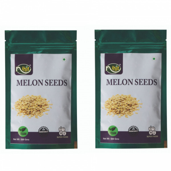 Nihit Melon Seeds, 200gm (Pack Of 2)