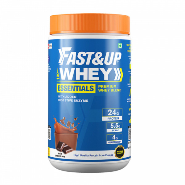 Fast&Up Essentials Premium Whey Blend, 15 Servings
