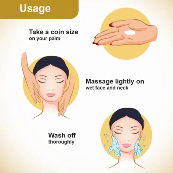 Keya Seth Aromatherapy Fresh Look Face Wash Natural Honey, 100ml