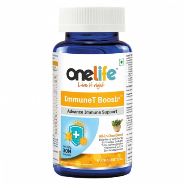 Onelife ImmuneT Booster, 30 Tablets
