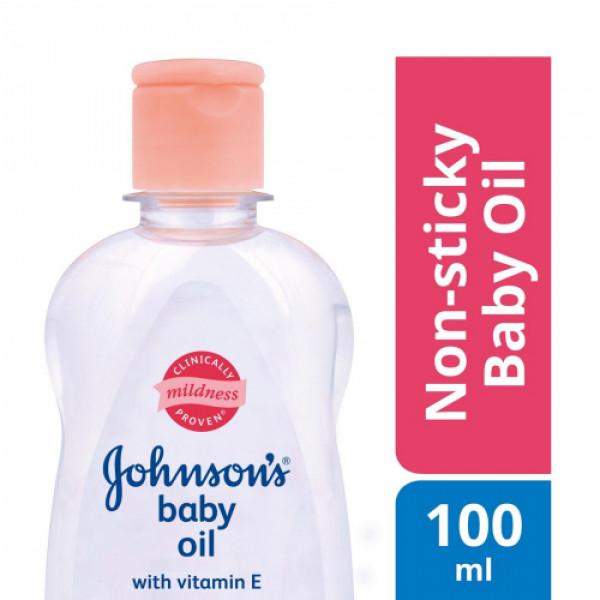 Johnson's Baby Oil, 100ml