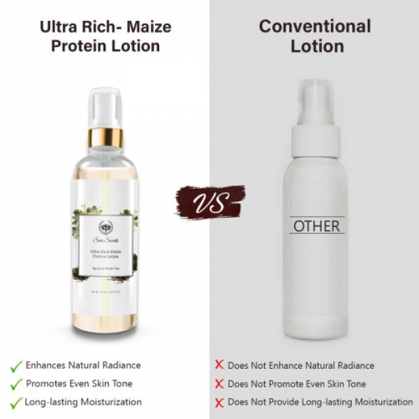 Seer Secrets Ultra - Rich Maize Protein Lotion Neroli & White Tea, 100ml