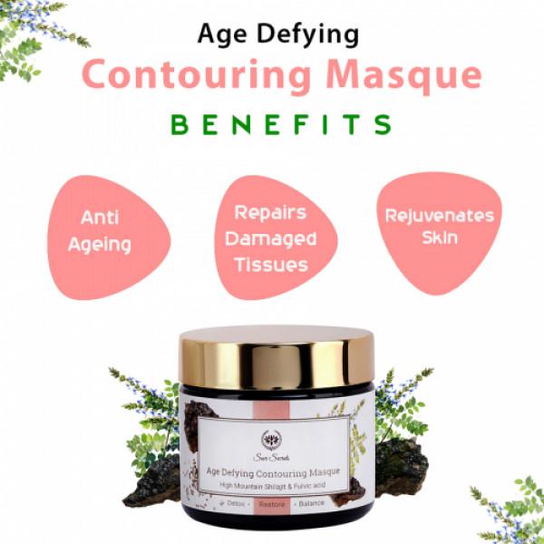 Seer Secrets Age Defying Contouring Masque High Mountain Shilajit & Fulvic Acid, 40gm