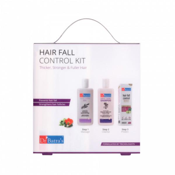 Dr Batra's Hair Fall Control Kit, 530ml