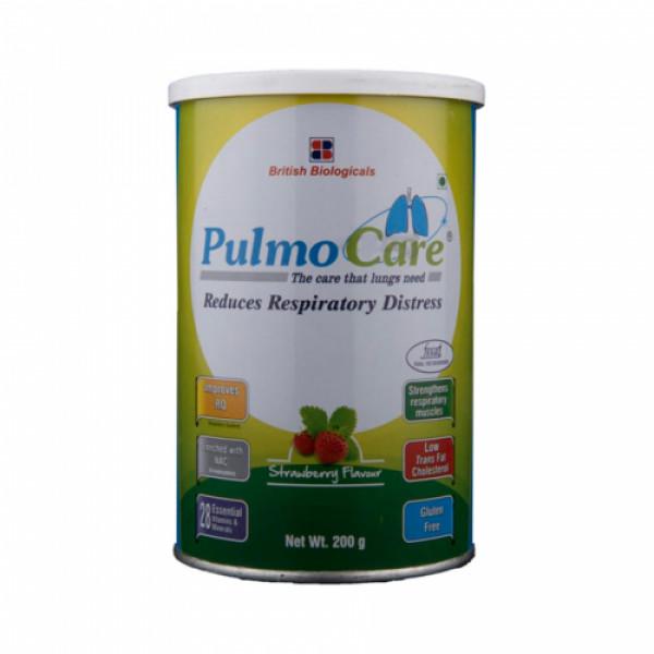 Pulmo Care - Strawberry Flavour, 200gm
