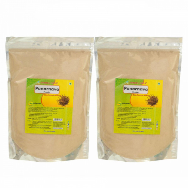 Herbal Hills Punarnava Powder, 1Kg (Pack Of 2)