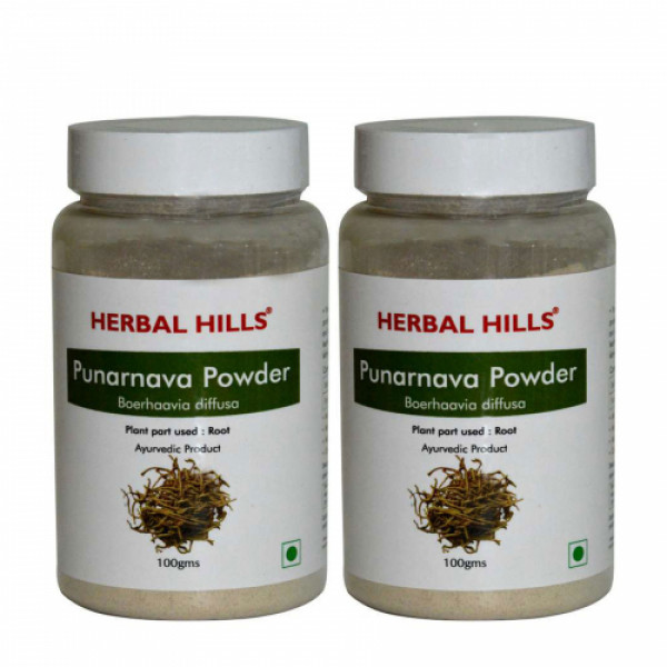 Herbal Hills Punarnava Powder, 100 gms (Pack Of 2)