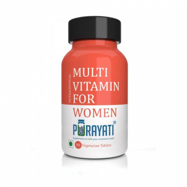 Purayati Multivitamin for Women, 90 Tablets