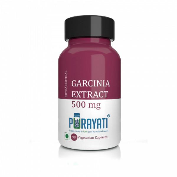 Purayati Garcinia Extract 500mg, 90 Capsules