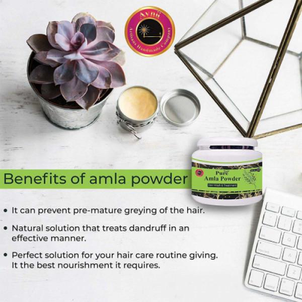 Avnii Organics Pure Amla Powder, 200gm