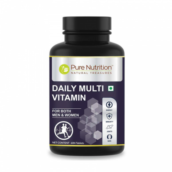 Pure Nutrition Daily Multivitamin, 60 Tablets
