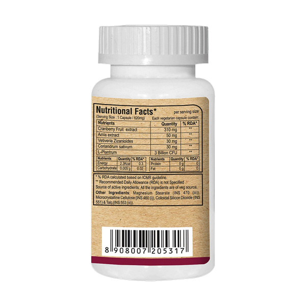 Pure Nutrition Cranberry Plus, 60 Capsules