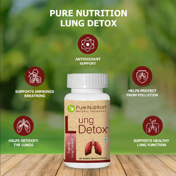 Pure Nutrition Lung Detox, 60 Capsules