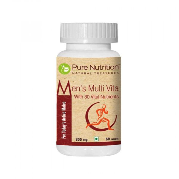 Pure Nutrition Men's Multi Vita, 60 Tablets