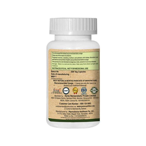 Pure Nutrition Moringa Vital, 60 Capsules
