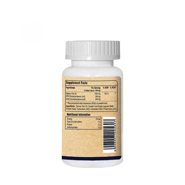 Pure Nutrition Omega 3 Marine Fish Oil, 75 Capsules