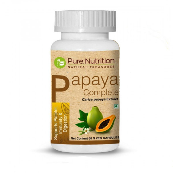 Pure Nutrition Papaya Complete, 60 Capsules
