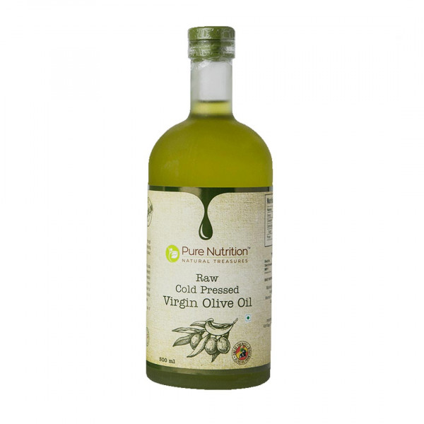 Pure Nutrition Raw Cold Pressed Virgin Olive Oil, 500ml