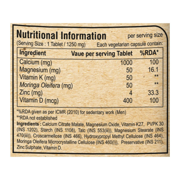 Pure Nutrition Ultra Calcium Citrate, 90 Tablets