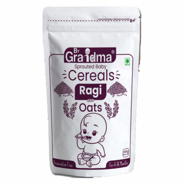 ByGrandma Ragi & Oats Kids Growth Porridge Mix, 280gm
