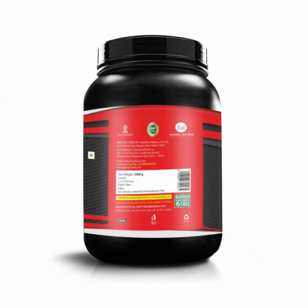 Mettle Raw And Pure Whey Isolate, 1kg