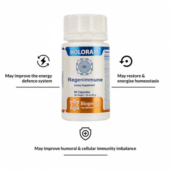 Biogetica Holoram Reginmune, 60 Capsules