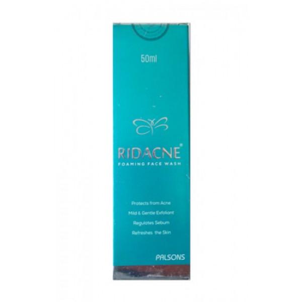 Ridacne Foaming Face Wash, 50ml