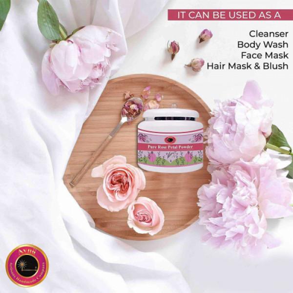 Avnii Organics Rose Petal Powder, 150gm