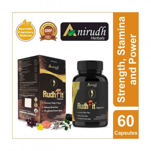 Anirudh Herbals RudhFit, 60 Capsules