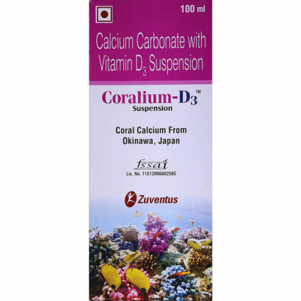 Coralium-D3 Syrup, 100ml