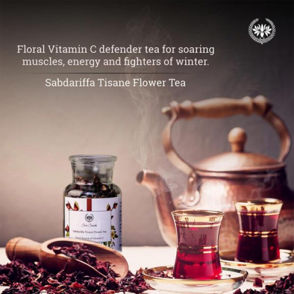 Seer Secrets Sabdariffa Tisane Herbal Tea, 20gm
