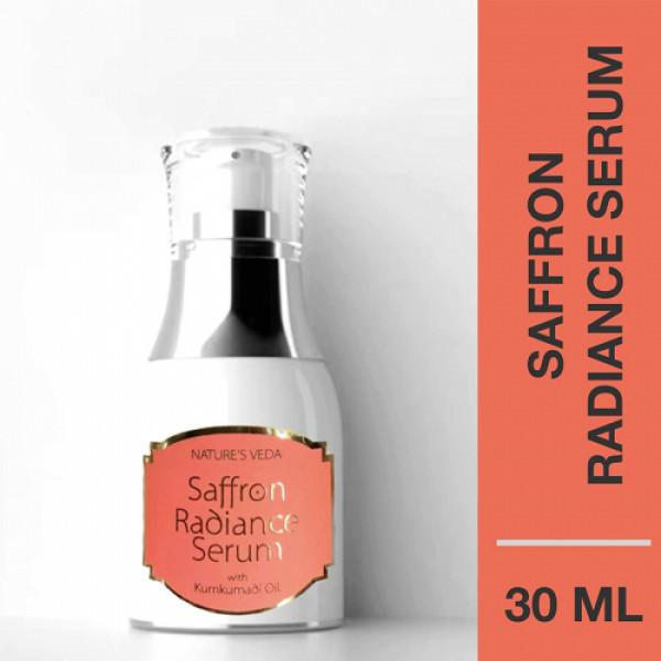 Nature's Veda Saffron Radiance Serum, 30ml
