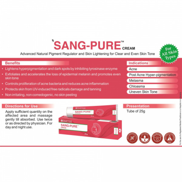 Millennium Herbal Care Sang-Pure Anti Acne Cream, 25gm