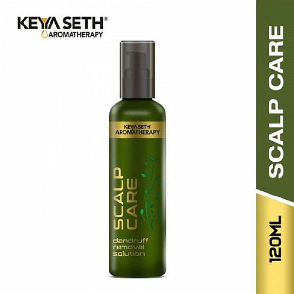 Keya Seth Aromatherapy Scalp Care Dandruff Removal Solution, 120ml