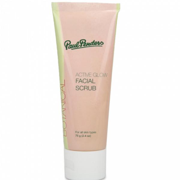 Paul Penders Active Glow Facial Scrub, 75gm