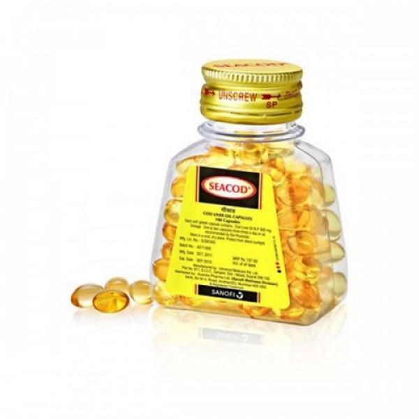 Seacod Liver Oil, 110 Capsules