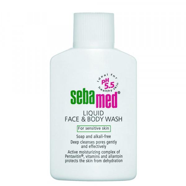 Sebamed Liquid Face & Body Wash, 200ml