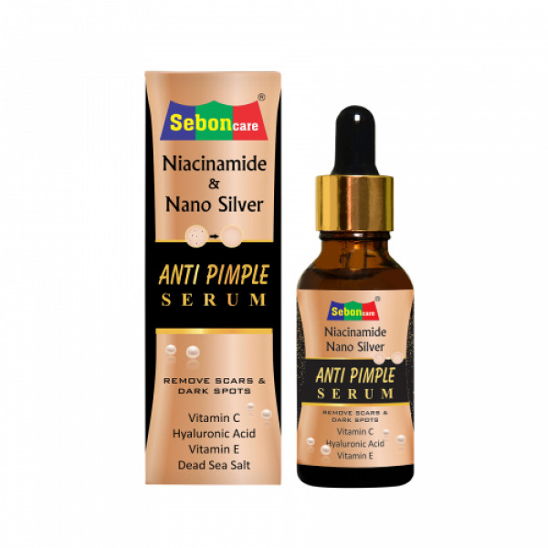 SebonCare Niacinamide Anti Pimple Serum, 30ml