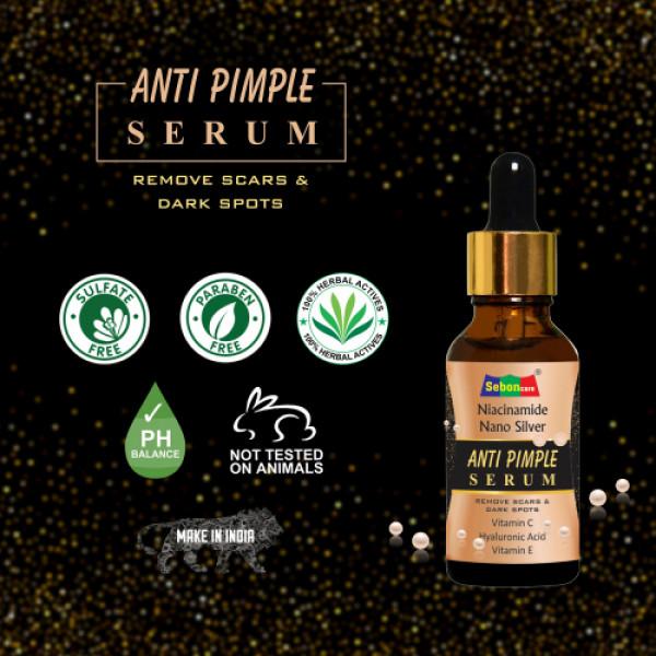 SebonCare Niacinamide Anti Pimple Serum, 10ml