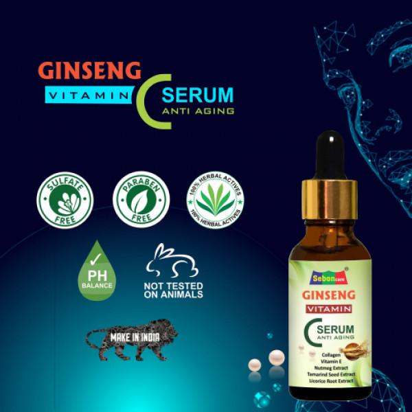 SebonCare Ginseng Vitamin C Serum, 10ml