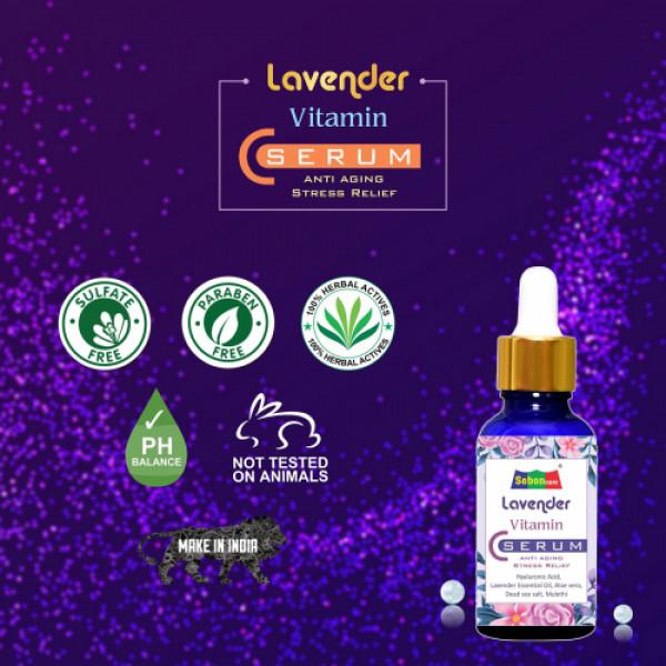 SebonCare Lavender Vitamin C Serum, 30ml