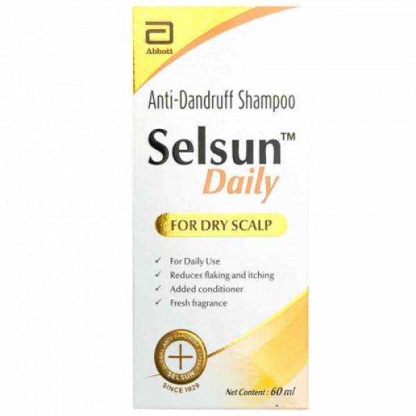 Selsun Daily Anti-Dandruff Shampoo, 60ml