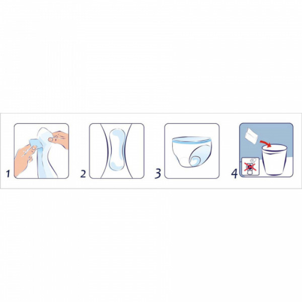 Seni Lady Bladder Control Pads Super, 15 Pieces (Pack Of 3)